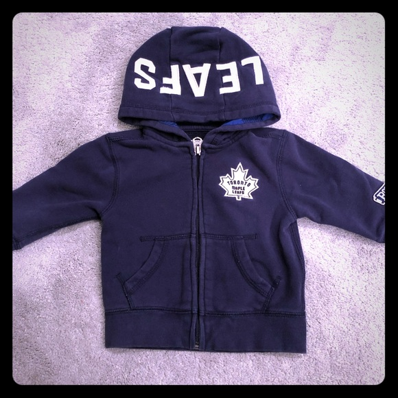 detailed look 3a464 88902 VGUC Roots Toronto Maple Leafs Hoodie